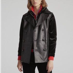 Rag & Bone Moto Leather Vest NWT $1295
